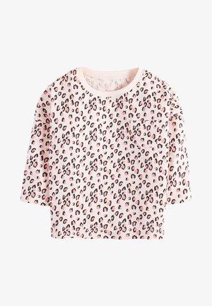 PINK ANIMAL PRINTED T-SHIRT (3MTHS-7YRS) - T-shirt à manches longues - pink