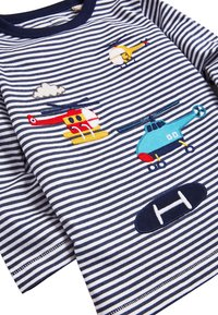 Next - BLUE LONG SLEEVE APPLIQUé HELICOPTERS T-SHIRT (3MTHS-7YRS) - Long sleeved top - blue - 2