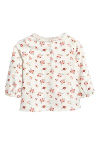Next - ECRU/PINK 3 PACK DUCK AND FLORAL T-SHIRTS (0MTHS-3YRS) - T-shirt à manches longues - pink - 4