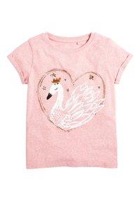 Next - T-shirt print - pink - 0