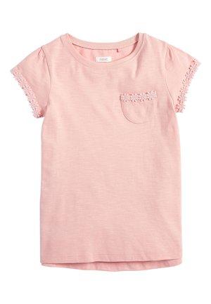 PINK DAISY BASIC T-SHIRT (3-16YRS) - Basic T-shirt - pink