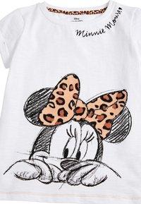 Next - WHITE MINNIE MOUSE ANIMAL BOW T-SHIRT (3-16YRS) - T-shirt imprimé - white - 2
