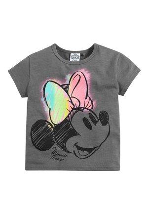 FLURO DISNEY MINNIE MOUSE T-SHIRT (3MTHS-7YRS) - T-shirt imprimé - grey