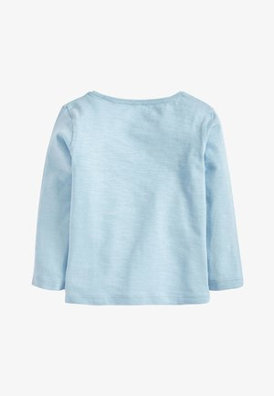 PALE BLUE ELSA DISNEY FROZEN LONG SLEEVE T-SHIRT (3MTHS-7YRS) - Camiseta de manga larga - blue