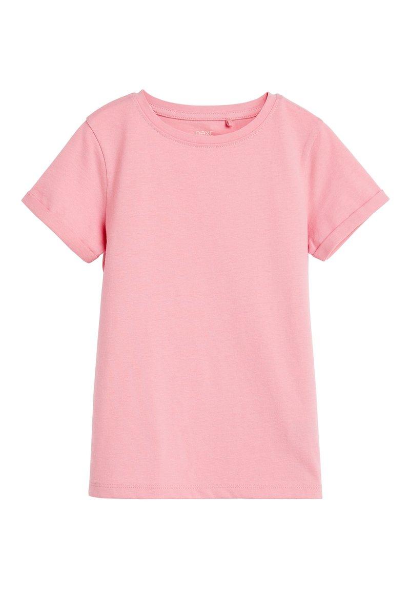 Next - PINK ORGANIC COTTON REGULAR FIT T-SHIRT (3-16YRS) - Camiseta básica - pink