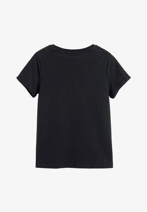 PINK ORGANIC COTTON REGULAR FIT T-SHIRT (3-16YRS) - T-shirt basic - black