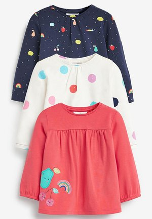 3 PACK BRIGHT TOPS (0MTHS-2YRS) - T-shirt à manches longues - pink