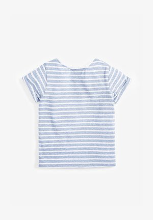 STRIPE UNICORN T-SHIRT (3MTHS-7YRS) - Print T-shirt - blue