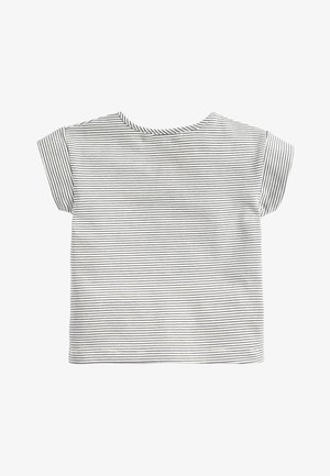 STRIPE MAGIC BOUCLé T-SHIRT (3MTHS-7YRS) - Print T-shirt - blue