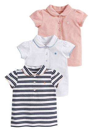 MULTI 3 PACK POLO T-SHIRTS (3MTHS-7YRS) - Poloshirt - pink