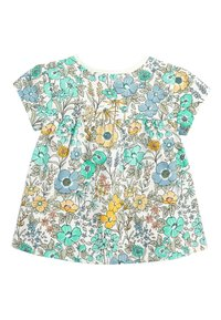 Next - TEAL FLORAL 5 PACK GOTS ORGANIC T-SHIRTS (3MTHS-7YRS) - Blouse - blue - 2