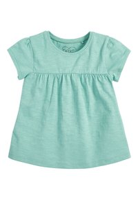 Next - TEAL FLORAL 5 PACK GOTS ORGANIC T-SHIRTS (3MTHS-7YRS) - Blouse - blue - 6
