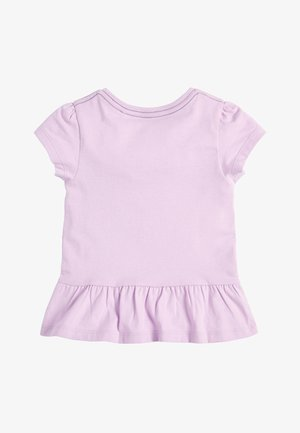 LILAC ICE CREAM APPLIQUé T-SHIRT (3MTHS-7YRS) - Print T-shirt - purple