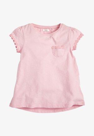 MINT DAISY TRIM T-SHIRT (3-16YRS) - Print T-shirt - pink