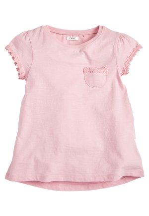 MINT DAISY TRIM T-SHIRT (3-16YRS) - T-shirt print - pink