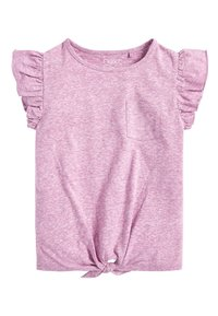Next - T-shirt print - pink - 5