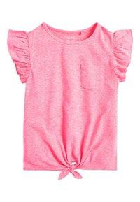 Next - T-shirt print - pink - 6