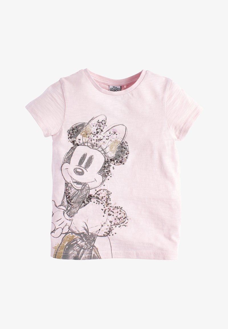 Next - LICENCE MINNIE MOUSE - Print T-shirt - pink