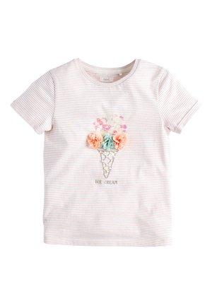 ICE CREAM - Print T-shirt - white