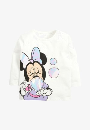 IRIDESCENT MINNIE MOUSET - Long sleeved top - white