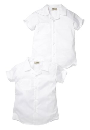 2 PACK - Button-down blouse - white
