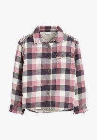Next - Button-down blouse - pink - 0