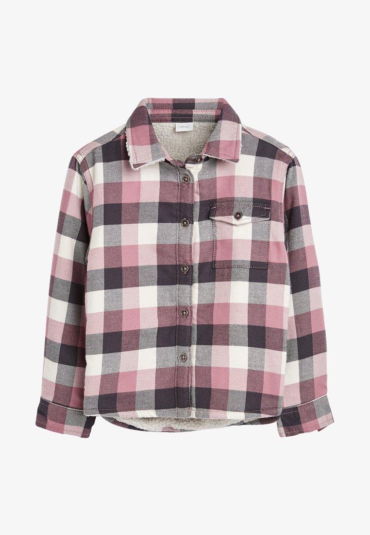 Next - Button-down blouse - pink