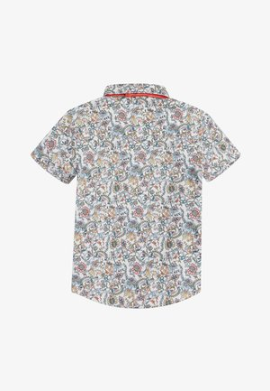 GREY SHORT SLEEVE FLORAL SHIRT WITH BOW TIE (3MTHS-7YRS) - Camicia - pink