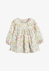 Next - PINK/WHITE 2 PACK FLORAL TUNIC TOPS (0MTHS-3YRS) - Tunic - pink - 1