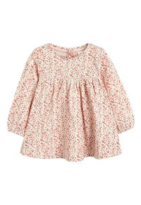 Next - PINK/WHITE 2 PACK FLORAL TUNIC TOPS (0MTHS-3YRS) - Tunic - pink - 3