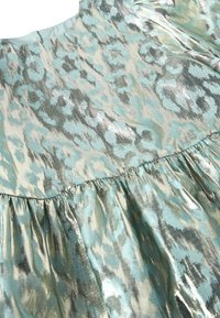 Next - MINT PUFF SLEEVE ANIMAL BLOUSE WITH SILK (3-16YRS) - Blus - green - 2