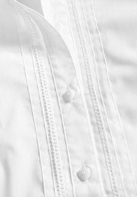 Next - WHITE LONG SLEEVE LACE TRIM BLOUSE (3-14YRS) - Button-down blouse - white - 2