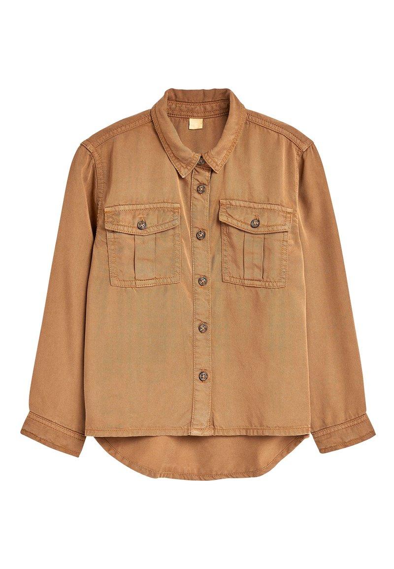 Next - PINK SHIRT (3-16YRS) - Button-down blouse - brown