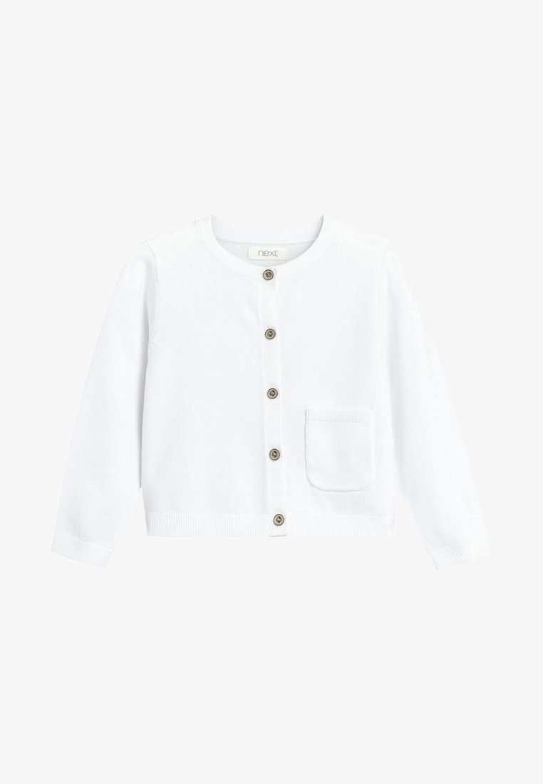 Next - Strickjacke - white