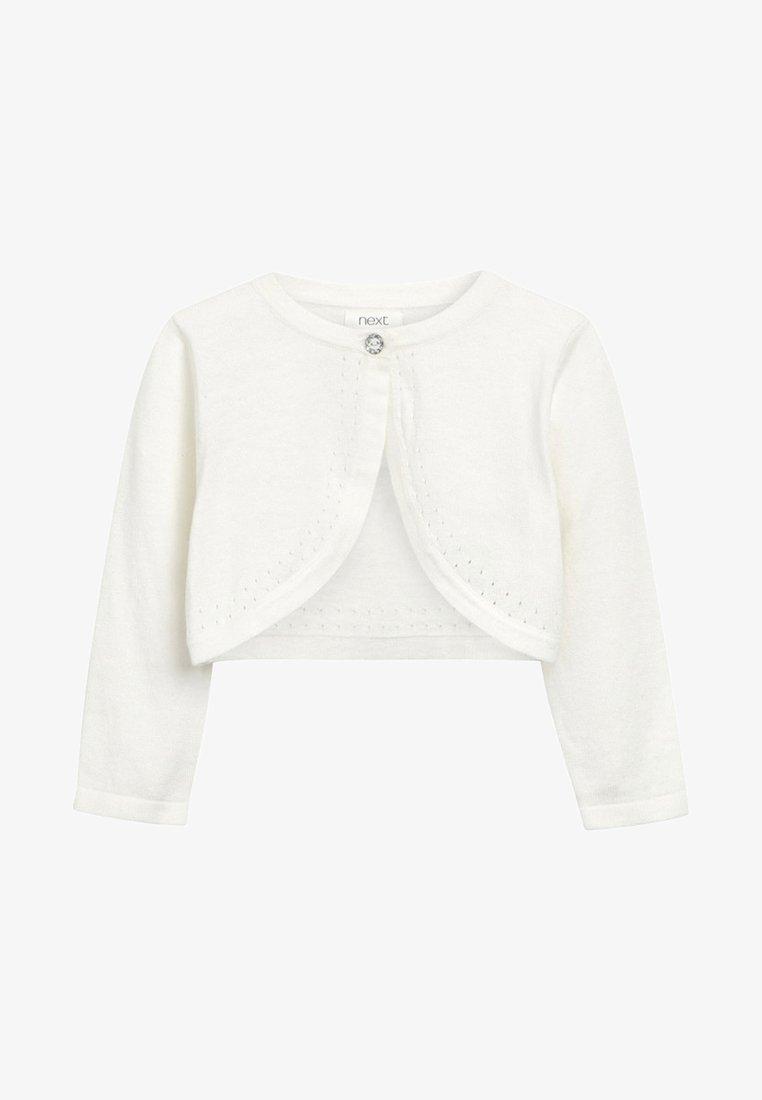 Next - ECRU OCCASION SHRUG - Vest - off-white