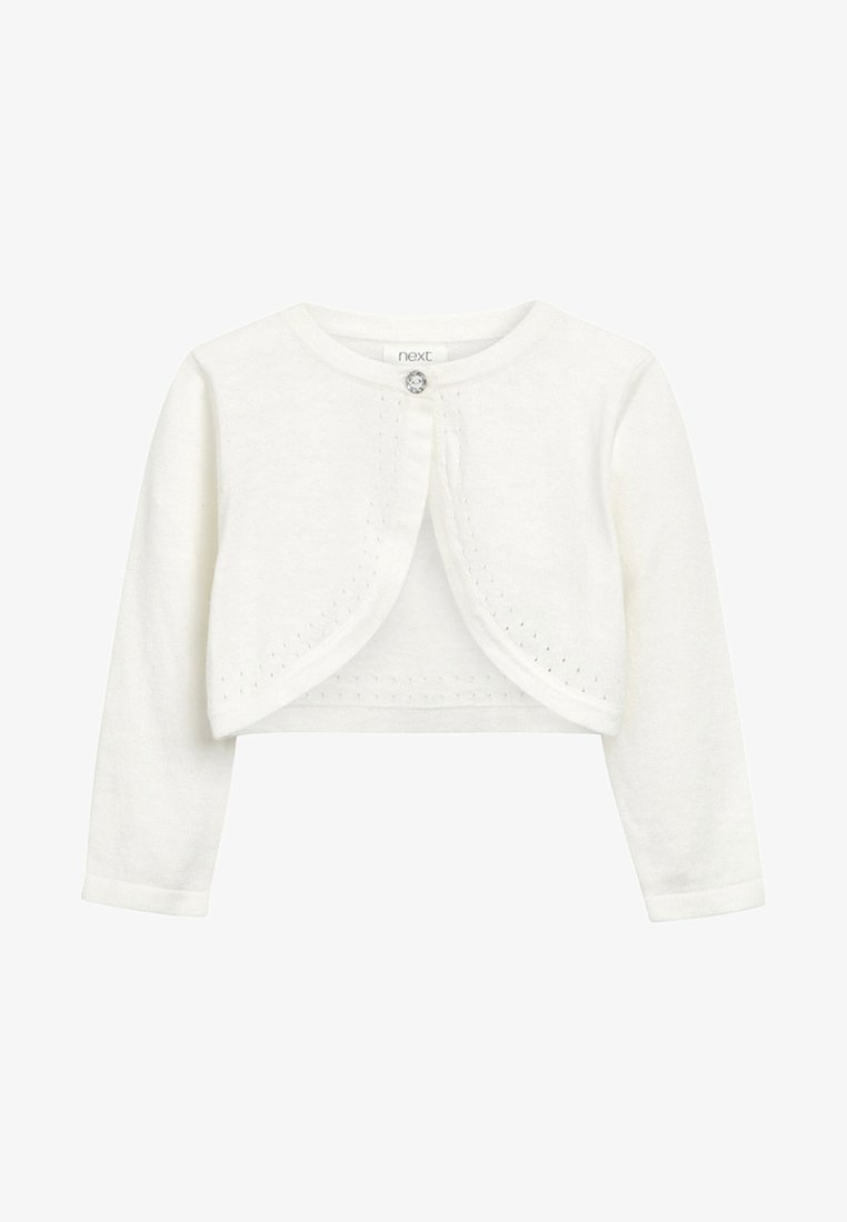Next - ECRU OCCASION SHRUG - Strickjacke - off-white