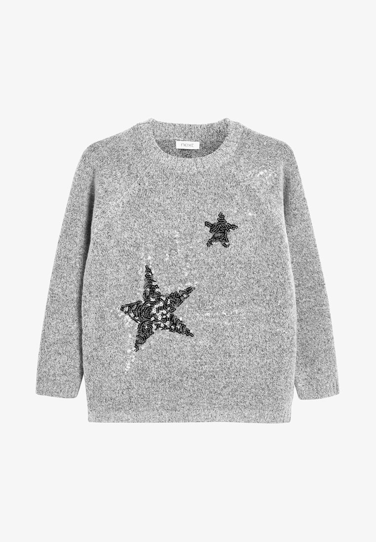 Next - STAR - Strickpullover - grey