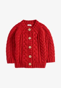 Next - RED CABLE - Chaqueta de punto - red - 0