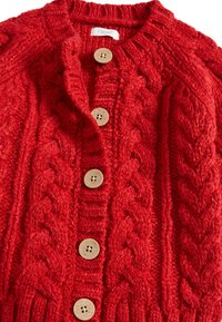 Next - RED CABLE - Chaqueta de punto - red