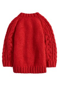 Next - RED CABLE - Chaqueta de punto - red - 1
