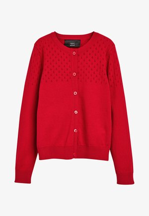 Strickjacke - red