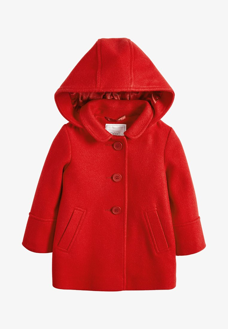 Next - Classic coat - red