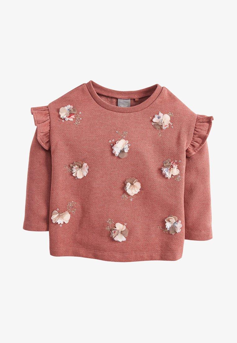 Next - EMBELLISHED - Long sleeved top - pink