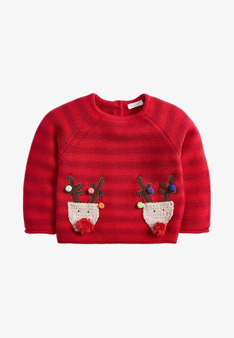 Next - REINDEER - Pullover - red