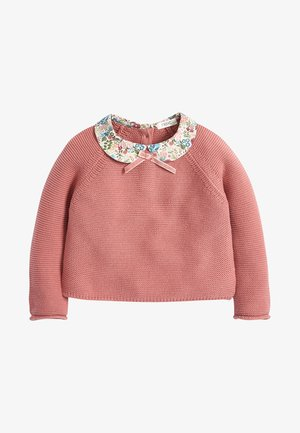 PINK COLLAR JUMPER (3MTHS-10YRS) - Svetr - pink