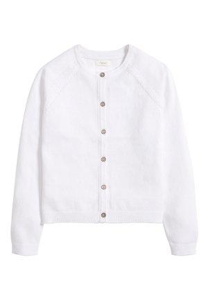 WHITE CARDIGAN (3-16YRS) - Vest - white
