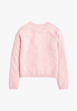 WHITE CARDIGAN (3-16YRS) - Cardigan - pink