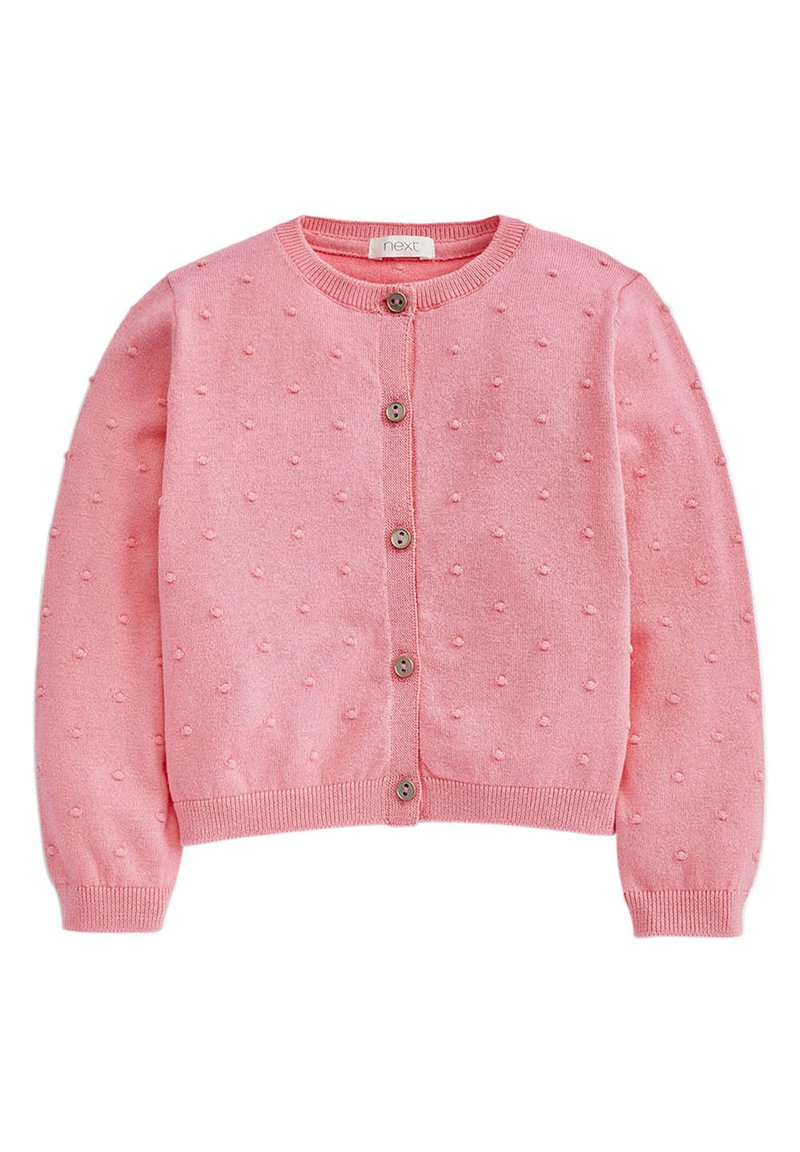 Next - BOBBLE CARDIGAN (3MTHS-7YRS) - Gilet - pink