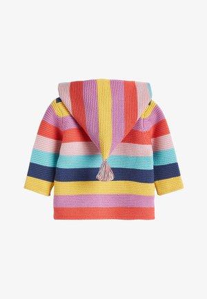 MULTI STRIPE BRIGHT CARDIGAN (0MTHS-3YRS) - Cardigan - pink