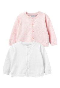 Next - PINK/WHITE 2 PACK CARDIGANS (0MTHS-3YRS) - Vest - pink - 0